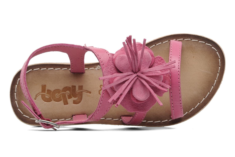 Sandali e scarpe aperte Bopy FERIDA Rosa immagine sinistra