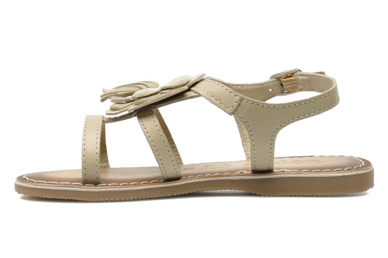 Sandalen Bopy FERIDA beige ansicht von vorne