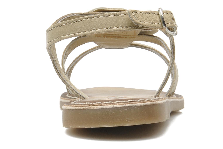 Sandalen Bopy FERIDA beige ansicht von rechts