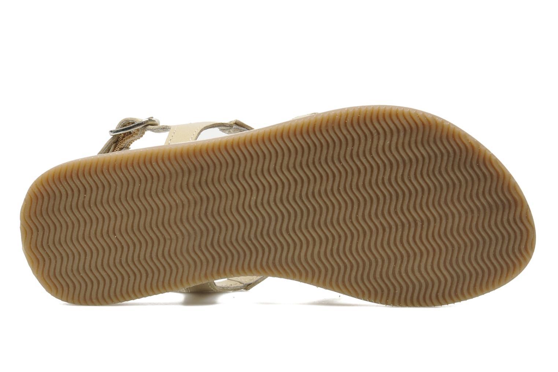 Sandalen Bopy FERIDA beige ansicht von oben