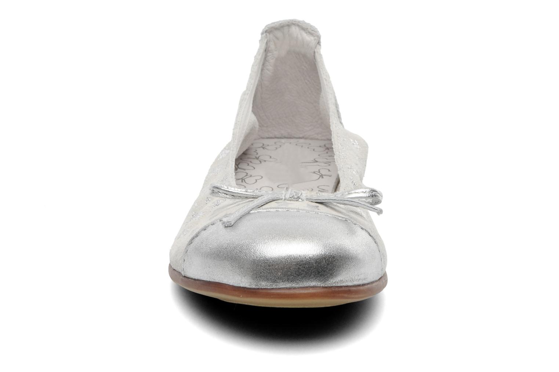 Ballerines Bopy STARLET Blanc vue portées chaussures