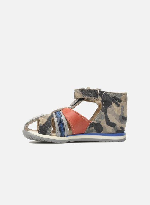 Sandales et nu-pieds Bopy ZADAO Gris vue face
