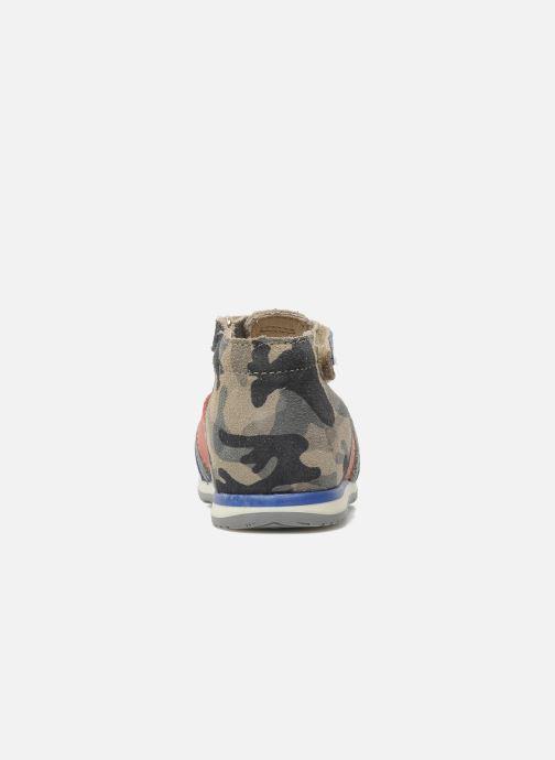 Sandales et nu-pieds Bopy ZADAO Gris vue droite
