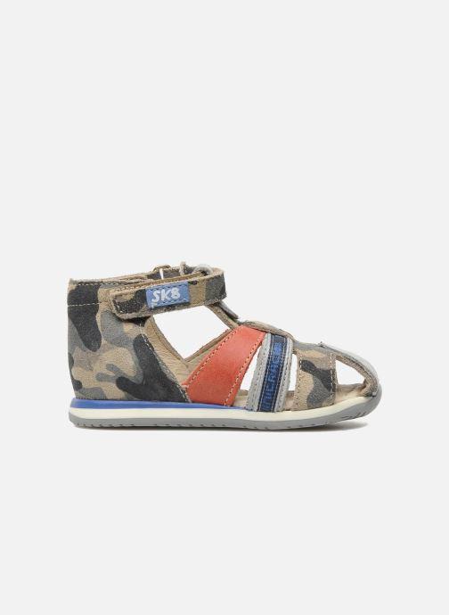 Sandales et nu-pieds Bopy ZADAO Gris vue derrière