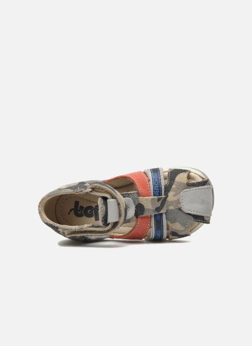 Sandales et nu-pieds Bopy ZADAO Gris vue gauche