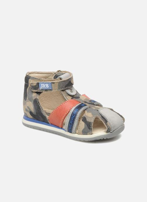 Sandales et nu-pieds Bopy ZADAO Gris vue détail/paire
