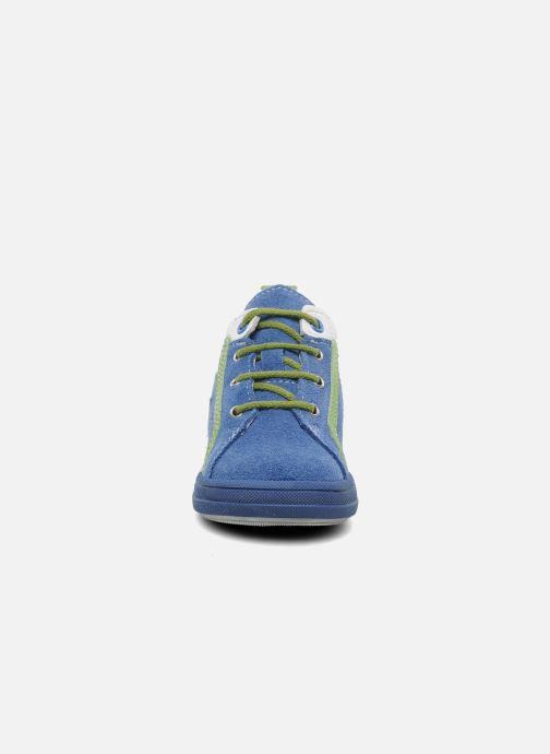 Baskets Bopy ZECLAIR Bleu vue portées chaussures