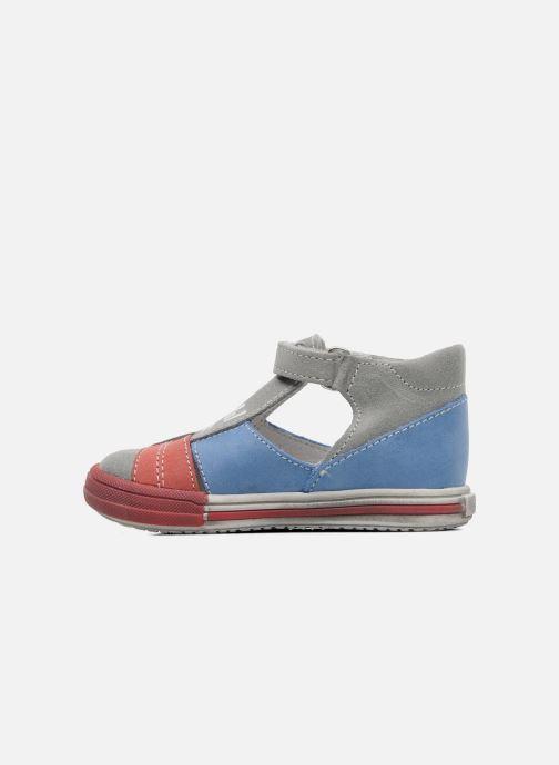 Sandales et nu-pieds Bopy ZIBERI Gris vue face