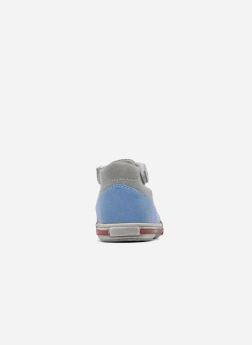 Sandales et nu-pieds Bopy ZIBERI Gris vue droite