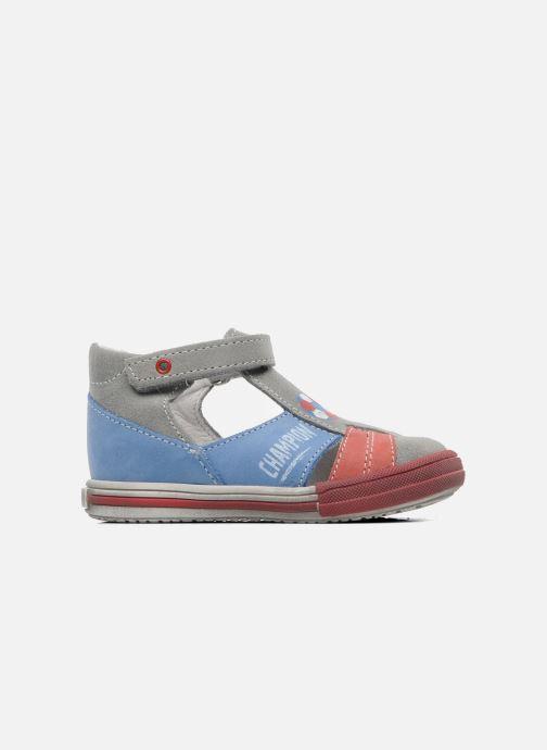 Sandales et nu-pieds Bopy ZIBERI Gris vue derrière