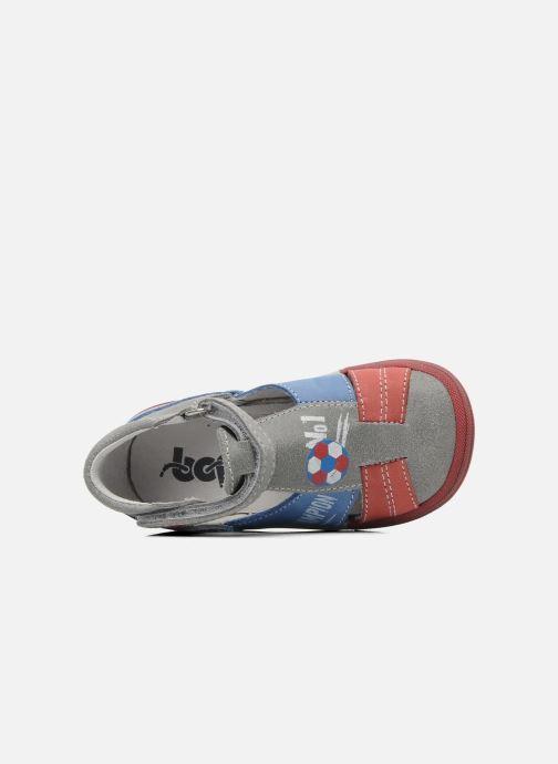 Sandales et nu-pieds Bopy ZIBERI Gris vue gauche
