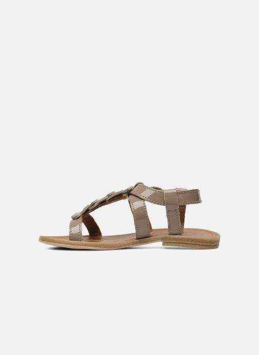 Sandales et nu-pieds Bisgaard Raspob Gris vue face