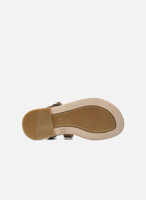 Sandales et nu-pieds Bisgaard Raspob Gris vue haut