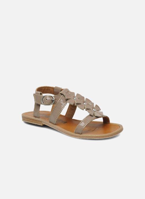 Sandales et nu-pieds Bisgaard Raspob Gris vue détail/paire
