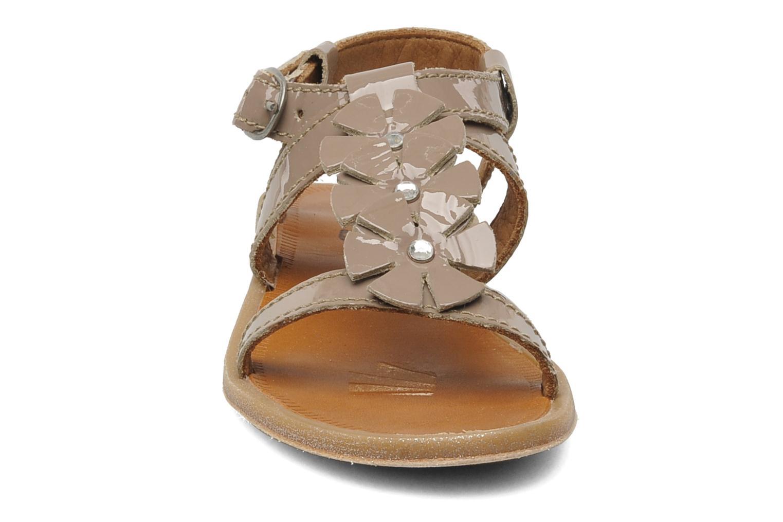 Sandales et nu-pieds Bisgaard Raspob Gris vue portées chaussures