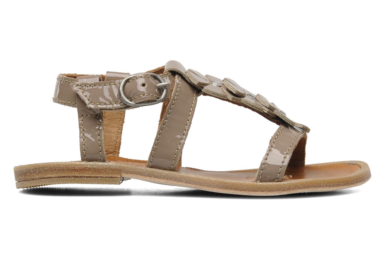 Sandales et nu-pieds Bisgaard Raspob Gris vue derrière