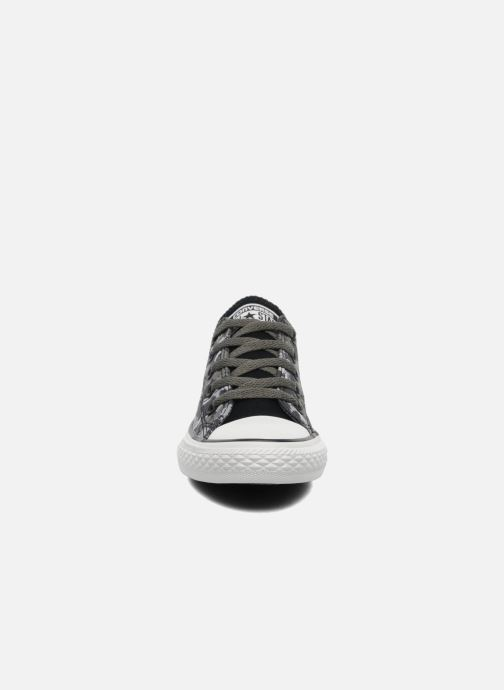 Sneaker Converse Chuck Taylor All Star Camo Ox K grau schuhe getragen