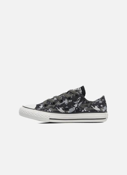 Sneaker Converse Chuck Taylor All Star Camo Ox K grau ansicht von vorne