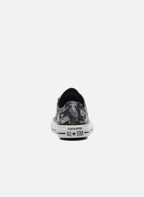 Sneaker Converse Chuck Taylor All Star Camo Ox K grau ansicht von rechts