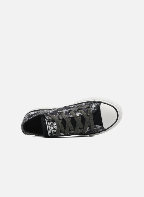 Sneaker Converse Chuck Taylor All Star Camo Ox K grau ansicht von links