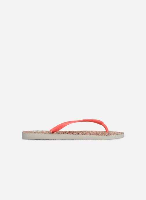 Tongs Havaianas Slim Animals Orange vue derrière