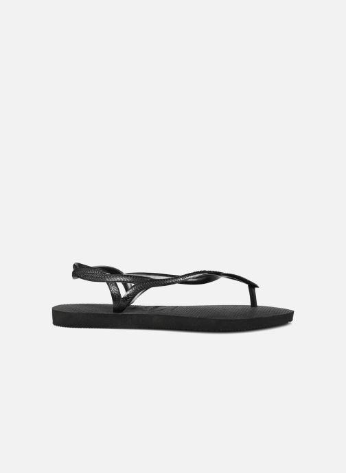 Sandales et nu-pieds Havaianas Luna Noir vue derrière