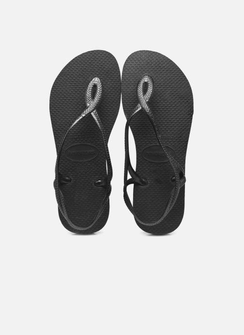 4a96d488d Havaianas Luna (Noir) - Sandales et nu-pieds chez Sarenza (286951)