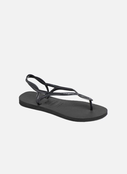 Sandales et nu-pieds Havaianas Luna Noir vue détail/paire