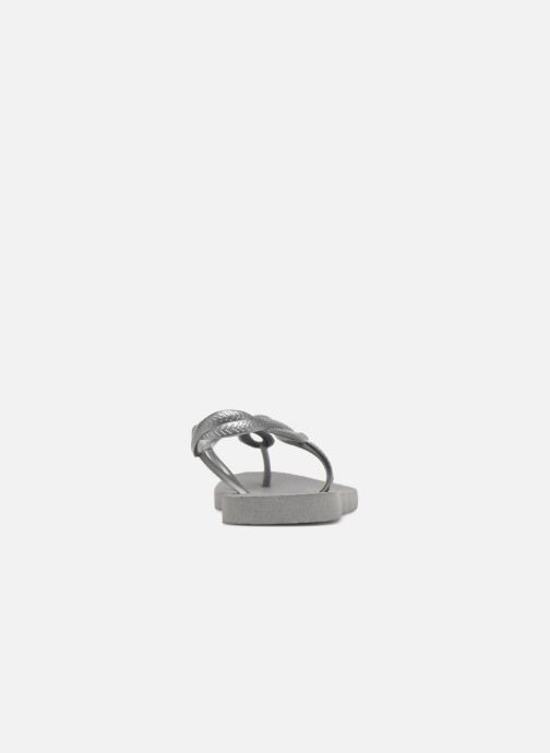 Sandales et nu-pieds Havaianas Luna Gris vue droite