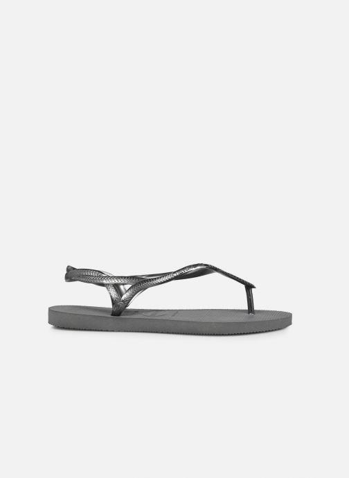 Sandales et nu-pieds Havaianas Luna Gris vue derrière