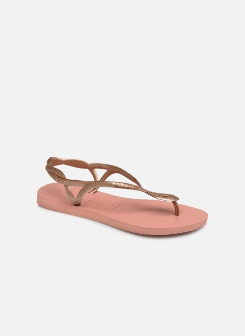 Sandaler Havaianas Luna Pink detaljeret billede af skoene