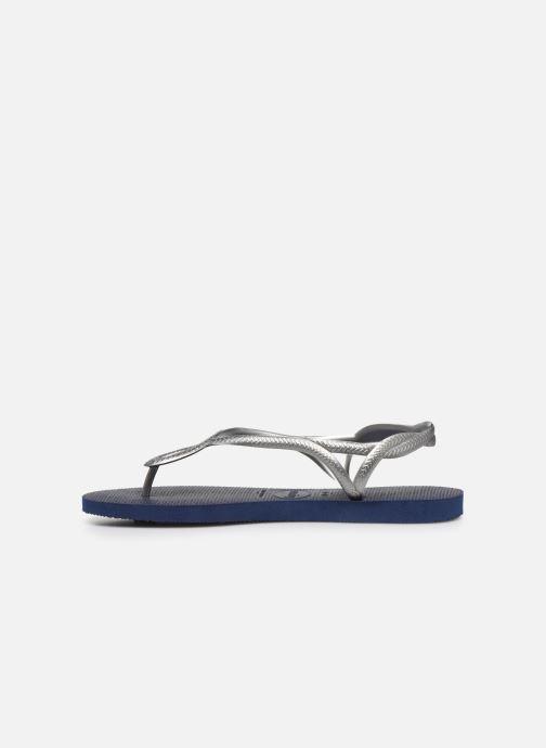 Sandales et nu-pieds Havaianas Luna Bleu vue face