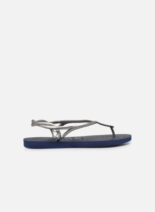 Sandales et nu-pieds Havaianas Luna Bleu vue derrière