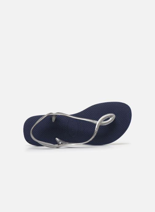 Sandales et nu-pieds Havaianas Luna Bleu vue gauche