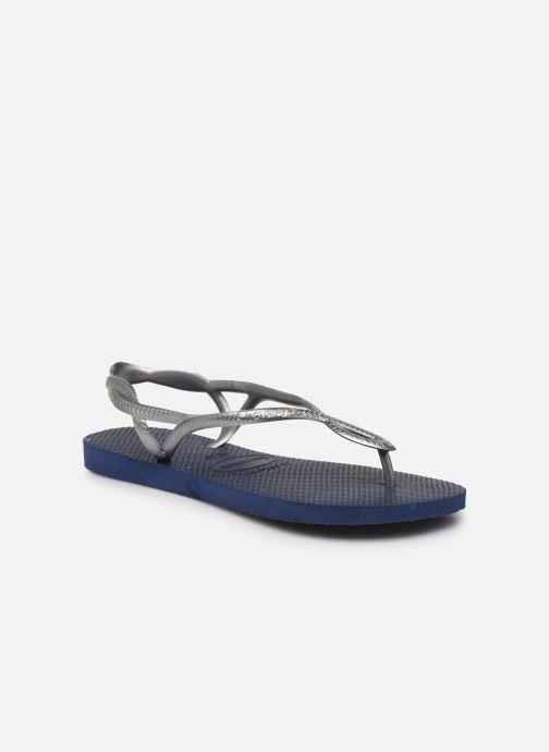 Sandales et nu-pieds Havaianas Luna Bleu vue détail/paire
