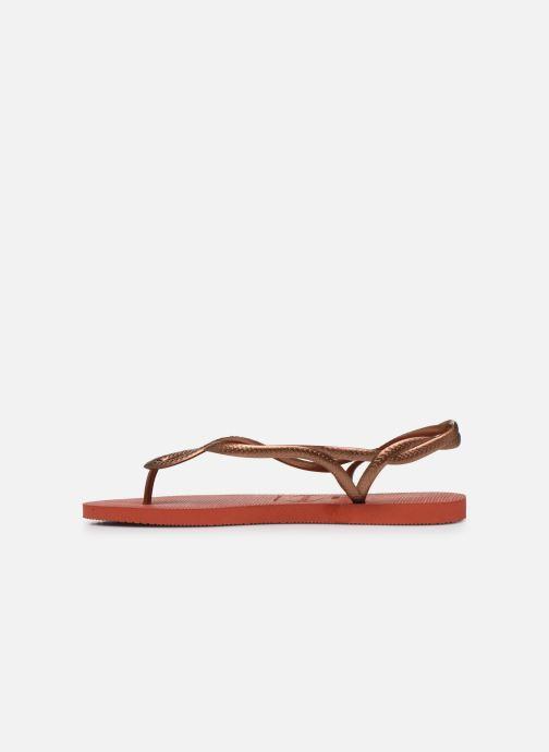 Sandales et nu-pieds Havaianas Luna Rouge vue face