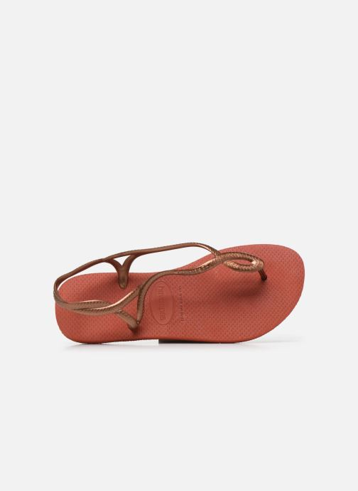 Sandales et nu-pieds Havaianas Luna Rouge vue gauche