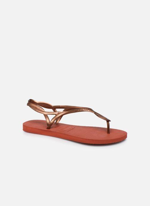 Sandales et nu-pieds Havaianas Luna Rouge vue détail/paire