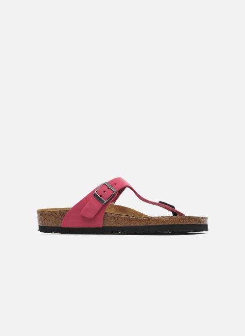 Flip flops Birkenstock Gizeh Nubuck W Pink back view