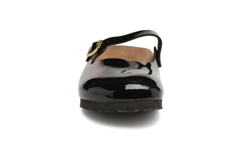 Clogs & Pantoletten Birkenstock Maria Flor W schwarz schuhe getragen