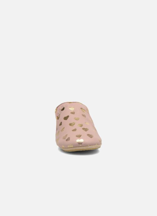 Chaussons Easy Peasy Blublu Patin Lovely Rose vue portées chaussures