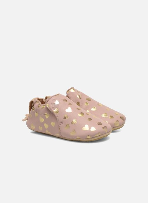 Chaussons Easy Peasy Blublu Patin Lovely Rose vue détail/paire