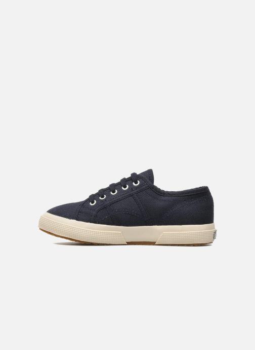 Sneakers Superga 2750 J Cotu Classic Azzurro immagine frontale