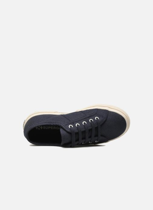 Trainers Superga 2750 J Cotu Classic Blue view from the left