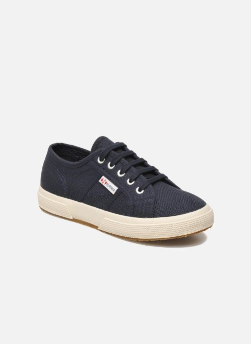 Trainers Superga 2750 J Cotu Classic Blue detailed view/ Pair view