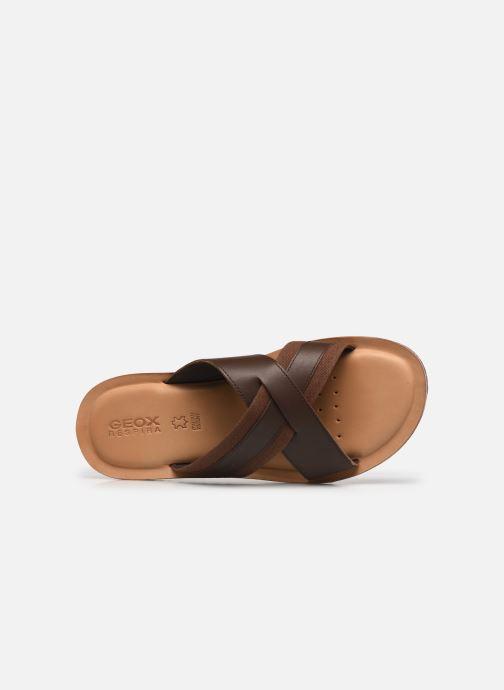 Sandales et nu-pieds Geox U ARTIE A Marron vue gauche