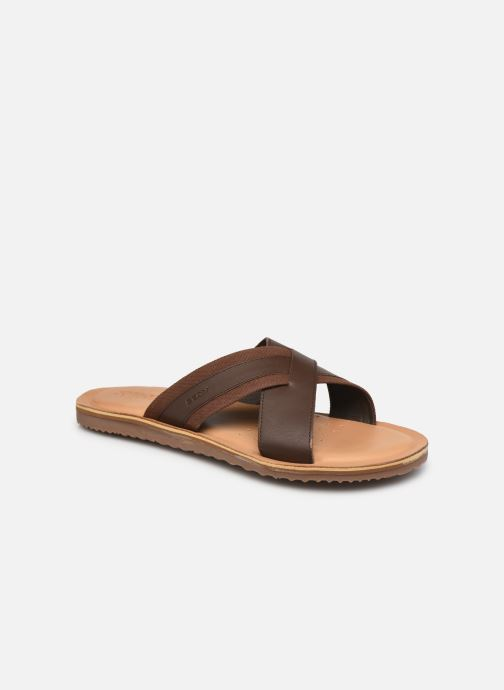 Sandales et nu-pieds Geox U ARTIE A Marron vue détail/paire