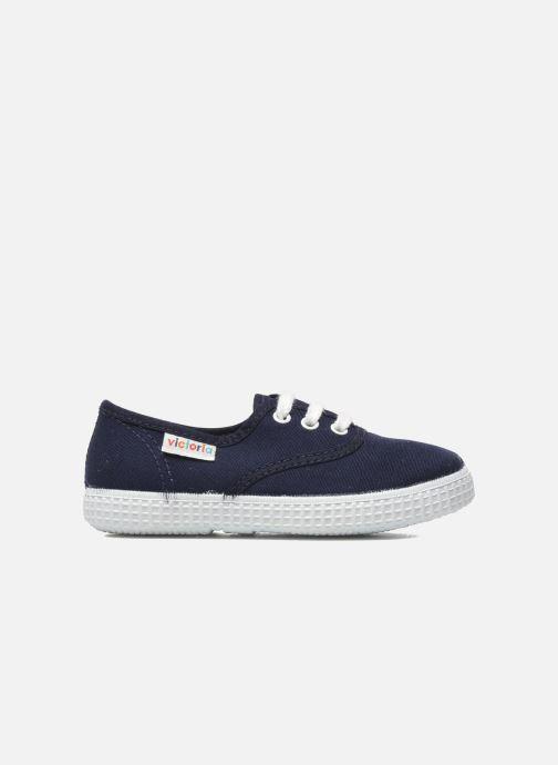 Sneakers Victoria Inglesa Lona Azzurro immagine posteriore