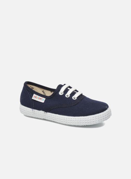Sneakers Victoria Inglesa Lona Azzurro vedi dettaglio/paio