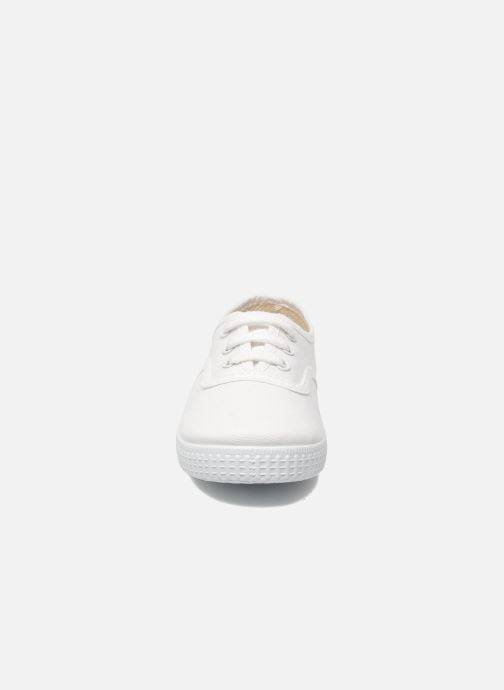 Sneaker Victoria Inglesa Lona weiß schuhe getragen